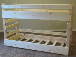 diy bunk beds kids toddler bed plans fits crib dma homes 27565