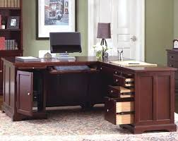 corner office desk with storage home office l desk atech me