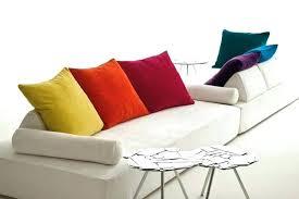 coussin pour canap canap de couleur cool domino canap cuir vachette couleur taupe
