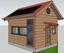 192 sq ft off grid tiny cabin design