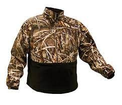 Duck Blind Accessories Amazon Com Coleman Mens Waterfowl Fleece Lined Pullover Pullover