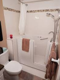 In Bathtub Walk In Tub Shower Combo Walk In Tubs And Showers Are Especially
