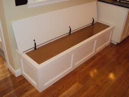 Build A Storage Bench Built In Bench Storage Traditional Kitchen Boston By