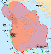 Map Of North West Usa by North American Plate Wikipedia