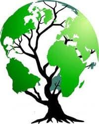 green tree globe climate capitalism