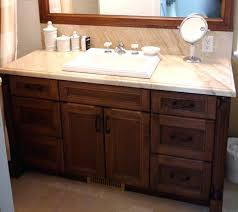 french country antique style white oak bathroom vanity sink