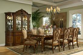 French Provincial Dining Room Set Furniture Low Country Black 6 Piece 58x38 Rectangular Dining Room