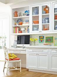 Kitchen Desk With Hutch Modest Desk In Kitchen Eizw Info