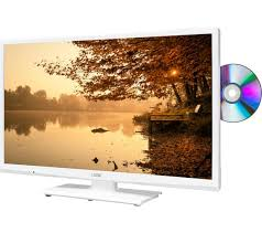 buy logik l24hedw15 24 led tv with built in dvd player white