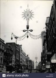 Christmas Decorations Oxford Street - nov 11 1964 christmas decorations in oxford street the