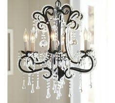 Camilla Chandelier Pottery Barn Paige Crystal Chandelier Bronze Finish Chandeliers Crystals