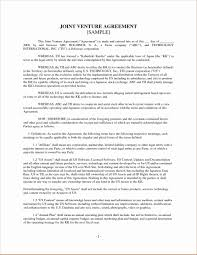 Plural Form Of Resume Joint Venture Agreement Doc Template For Tickets