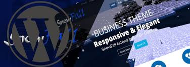 wp themes video background the video background theme snowfall is live at wordpress org d5