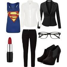 Clark Kent Halloween Costumes Female Clark Kent Liana U0027s Halloween Costume 2014 Style