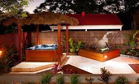 Tropical Patio Design Tropical Spas Tub Tropical Spa Theme Image Via Houzz