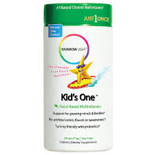 Rainbow Light Kids One Multistars Multivitamin Mineral Chewable