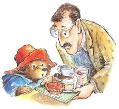 paddington bear story illustrations google drawings