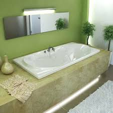 Jetted Whirlpool Drop In Bathtubs Bathtubs The Home Depot Rectangular Soaking Tubbathtubs Idea Tubs Home Depot Bathtub Home