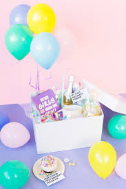 birthday balloons in a box 1st bday exploding album2e how to make balloon box home