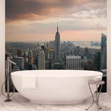 new york city empire state building wall paper mural buy at new york city empire state building wallpaper mural