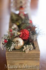christmas centerpieces rustic christmas centerpiece marty s musings
