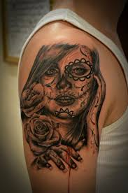 la santa muerte tattoo buscar con google tattoos pinterest