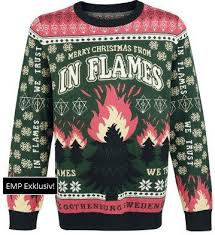 band sweaters sweater stains a in flames the toilet ov hell