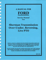 rep087 service manual reprint sherman transmission over under