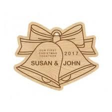 laser cut wooden wedding ornaments