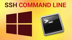 how to access ssh command line in windows youtube