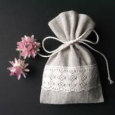 linen favor bags best fabric favor bags products on wanelo