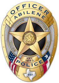 abilene police badge readytocut vector art for cnc free dxf