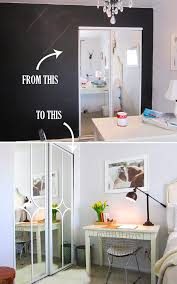 Closet Doors Diy Diy Challenge Give Your Closet Doors A Makeover Ideas And