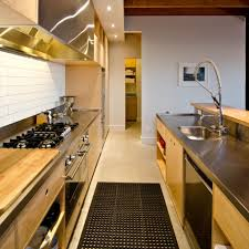 commercial style kitchen that can be adapted to suit any home made