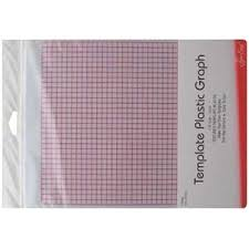 Plastic Template Sheets Grid Marked Template Plastic For Patchwork Templates And Quilting