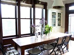 farmhouse kitchen table and chairs for your home with hanging