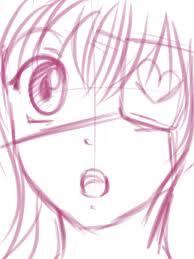 anime sketch by spaceshroom on deviantart