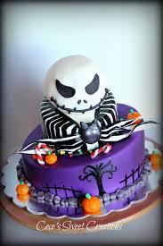 halloween cake fondant jack from nightmare before christmas cake jack from nightmare