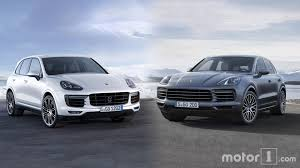porsche suv 2014 2019 porsche cayenne see the changes side by side