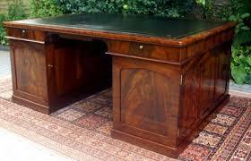 Antique Office Desks For Sale Antique Desk Antique William 1v Mahogany Partners Within
