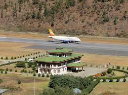 Dca Airport Map Paro Airport Wikipedia