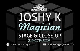 Magician Business Cards Joshy K U0027s Business Cards