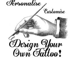 custom tattoo design etsy