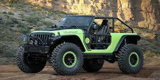 jeep unlimited green yep jeep built a 707 hp hellcat powered wrangler for easter jeep
