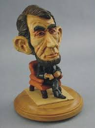 wood carving caricatures carved caricature of abe lincoln picture of the gallery on