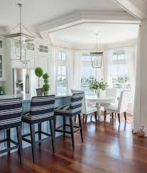 Beach House Dining Room A Dreamy New England Beach House With Seaside Views One Kindesign