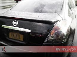 nissan altima check engine light rtint nissan altima sedan 2007 2012 tail light tint film