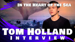 tom holland interview in the heart of the sea youtube