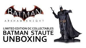 halloween collectables batman arkham knight dc collectables limited edition batman statue