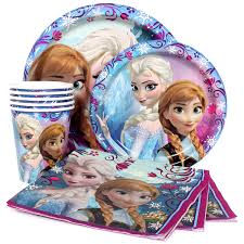 frozen party supplies disney frozen party supplies package for 8 at dollar carousel